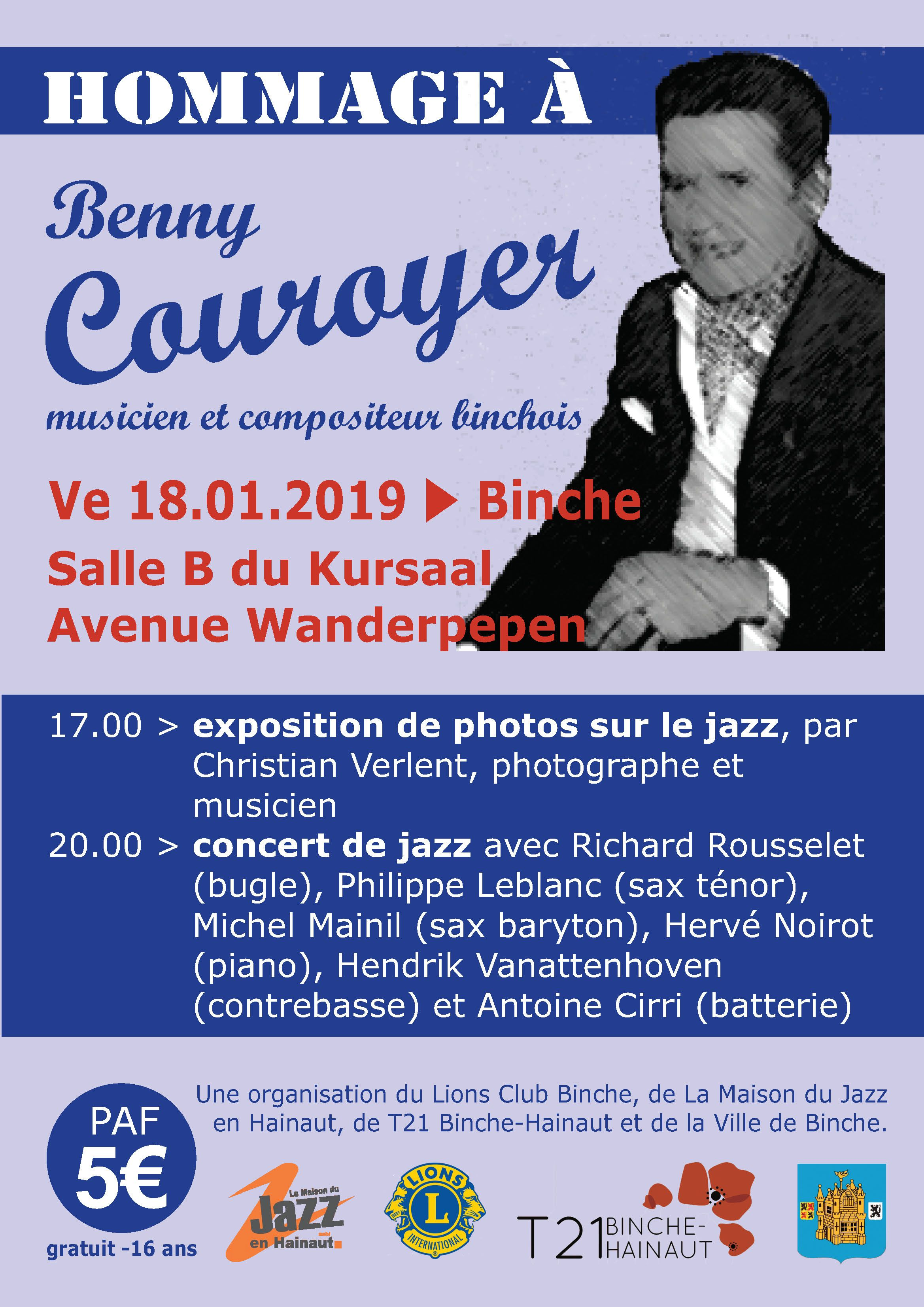 Affiche Benny Couroyer